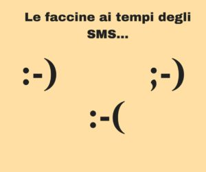 Faccine emoticon